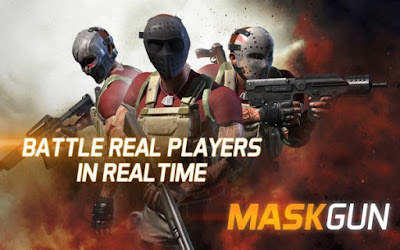 MaskGun Apk v1.031 Mod (High Damage/Ammo/No Reload)