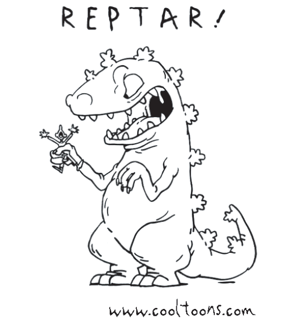 MORE SUPER DUPER AWESOME RUGRATS COLORING PAGES