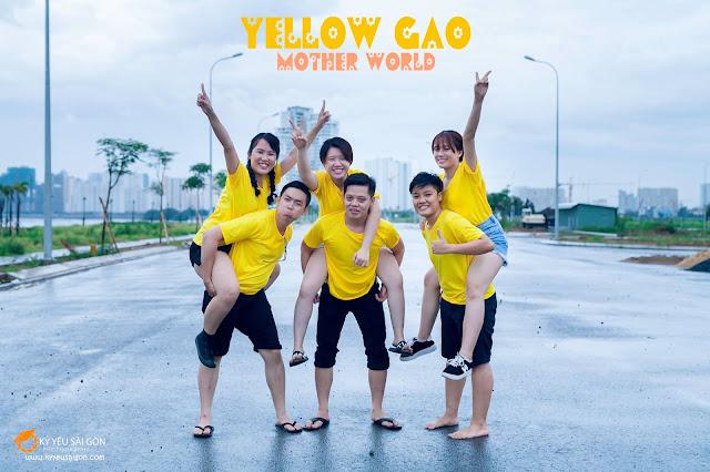 trang phục chụp ảnh kỷ yếu Sài Gòn
