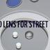 LED lens for street light