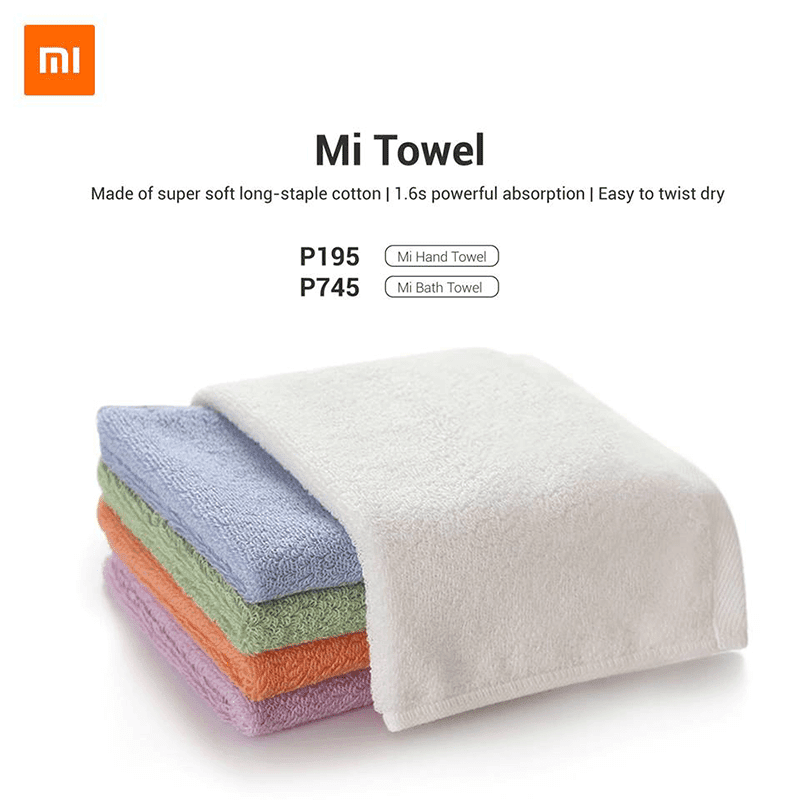 Xiaomi Mi Towel arrives in the Philippines, starts at PHP 195