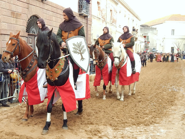 Reconstrucció històrica medieval Sardenya