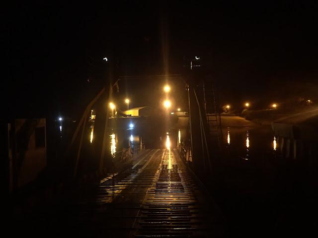 Wjazd na rumuńską ziemię - zjeżdżamy ze statku