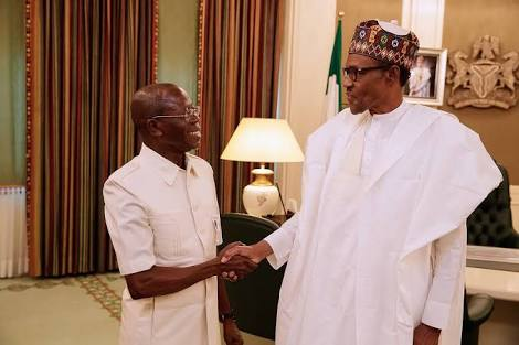 Buhari, APC Governors Want New Team To Work With Oshiomhole?