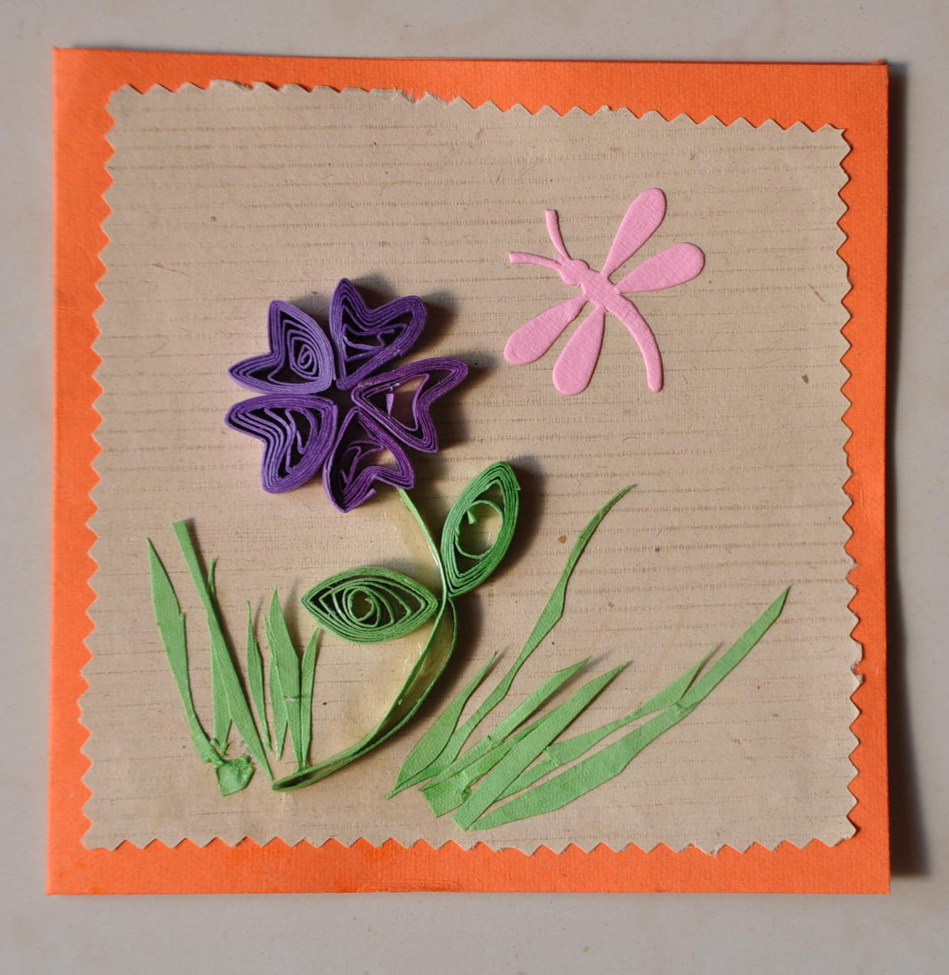 Paper quilled cards