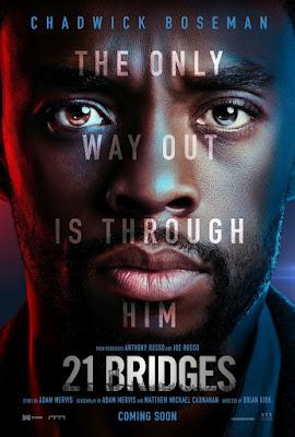 21 Bridges Movie Poster 1