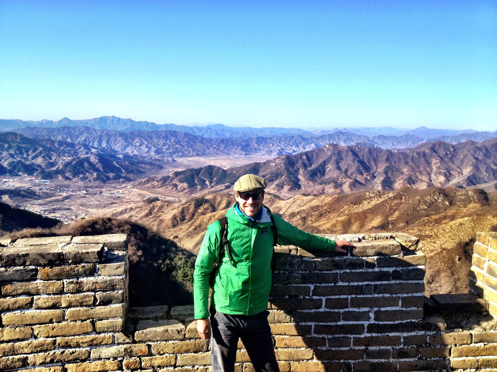 Me on The Great Wall Of China - March 2013