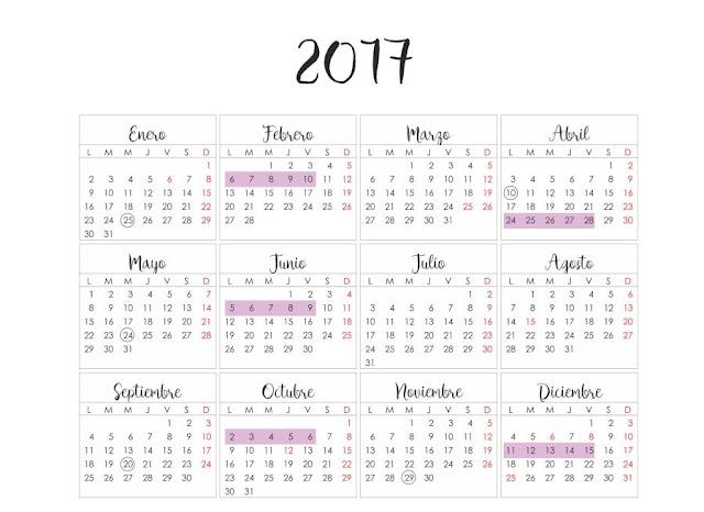 Exámenes 2017