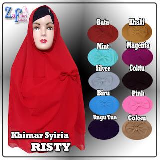 Khimar-syiria-risty-warna-terbaru