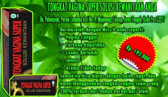 TONGKAT VAGINA SUPER DE NATURE INDONESIA