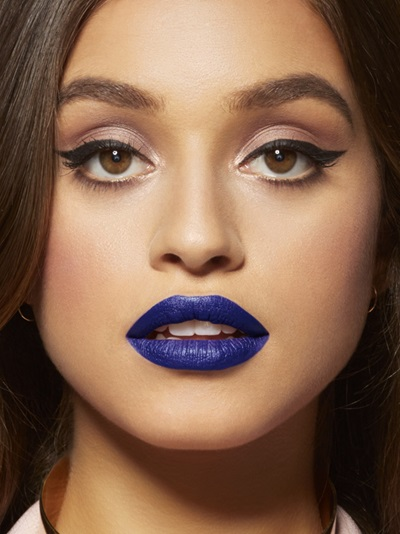 make up rossetto blu rossetto blu tendenza rossetto blu tendenze make up autunno 2016 blue lipstick beauty tips beauty blog color block by felym beauty blog italiani