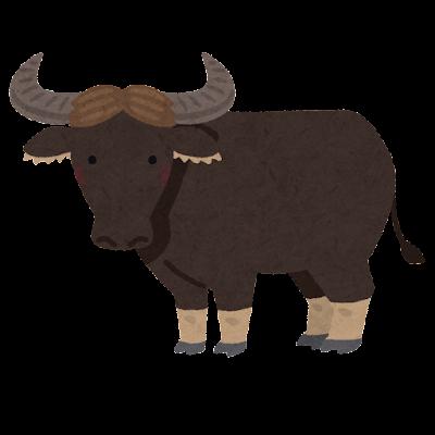 水牛のイラスト