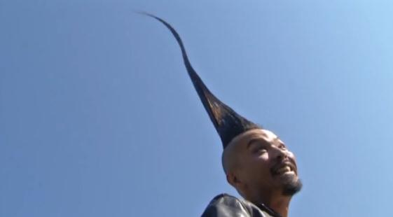 Il Guinness dei Primati: Kazuhiro Watanabe - La cresta più ...
