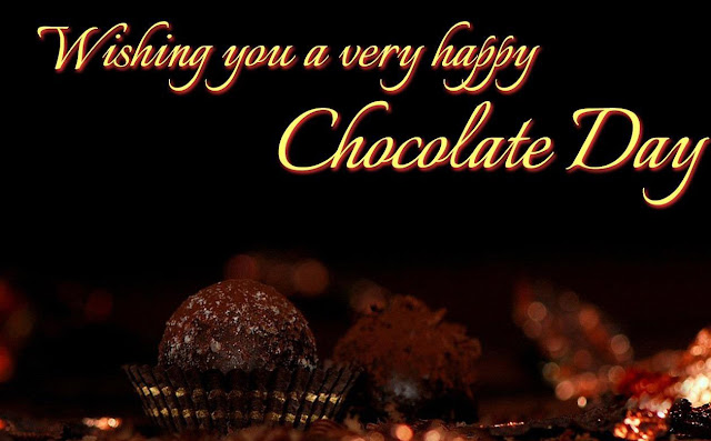 Happy Chocolate Day HD Wallpaper Download