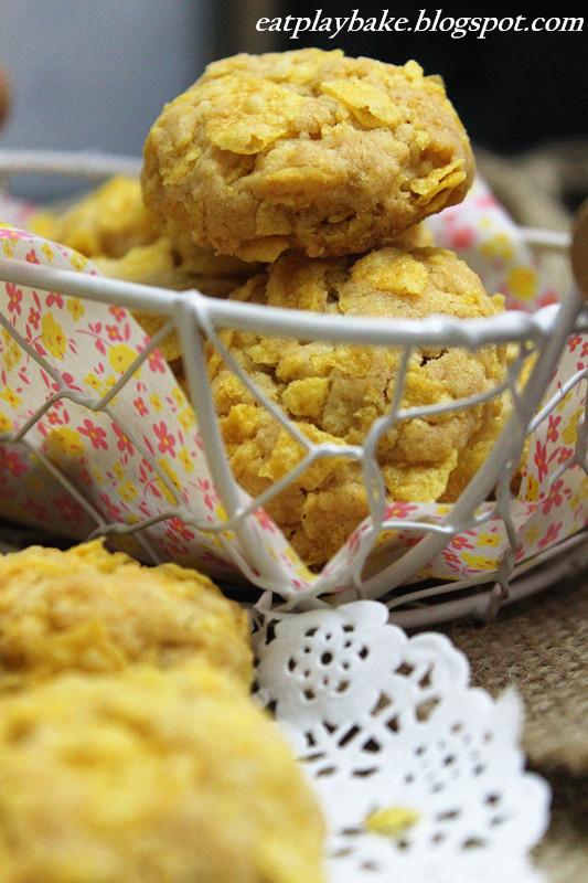 貓兒的天空: 玉米片曲奇 Cornflake Cookies