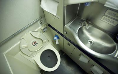 Aeroplane toilet