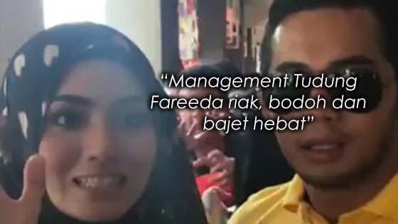 Admin Page Facebook Tudung Fareeda Dikecam Kerana Dianggap Riak, Bodoh dan Bajet Hebat