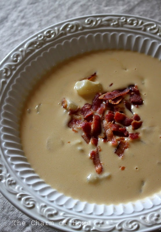 Creamy Cheddar Soup:The Charm of Home