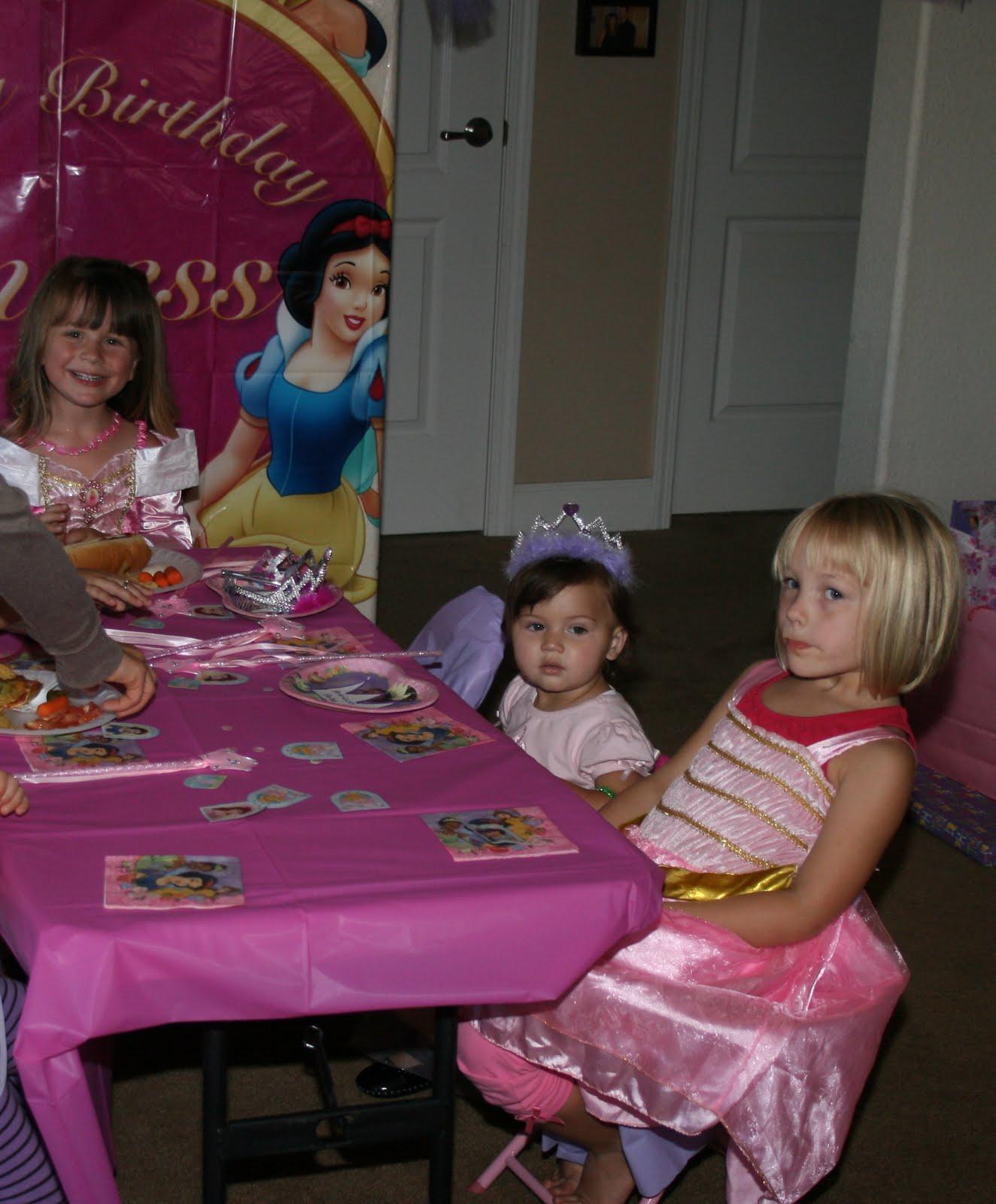 The Hulbert Family: Princess Party