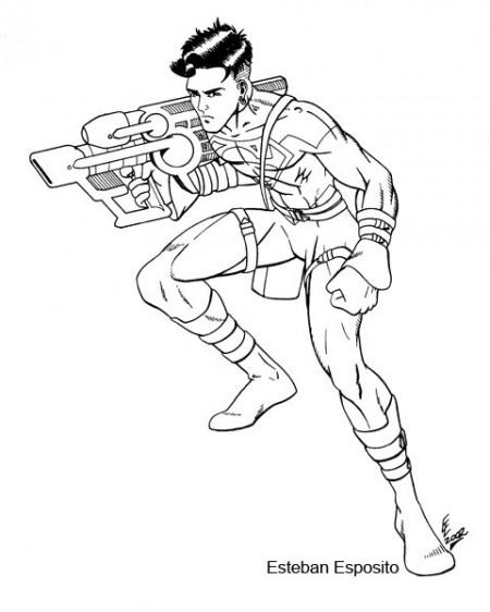 DIBUJADORES: Superboy