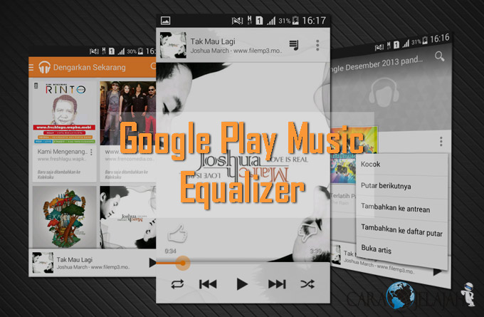 Cara Mengatur Ekualiser Google Play Musik (Memaksimalkan Kualitas Suara)