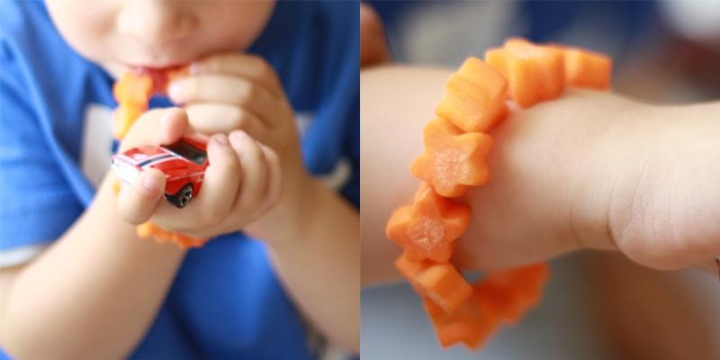 Pulseras de fruta