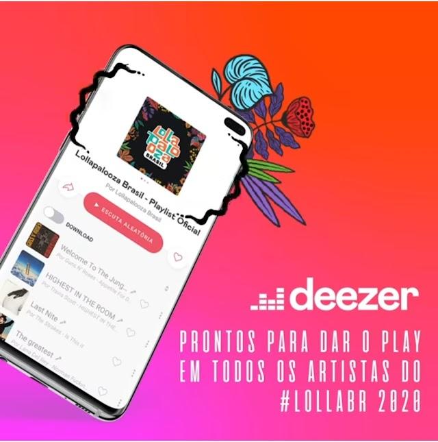 Saiba onde ouvir a playlist oficial do Lollapalooza 2020