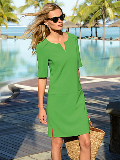 St Emile green jersey dress from Peter Hahn