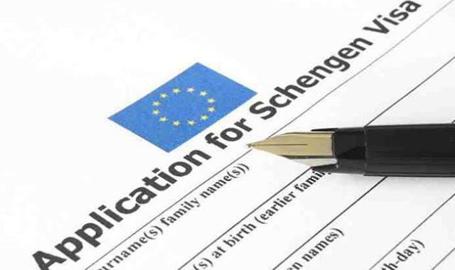 نموذج طلب فيزا شنغن Schengen Visa