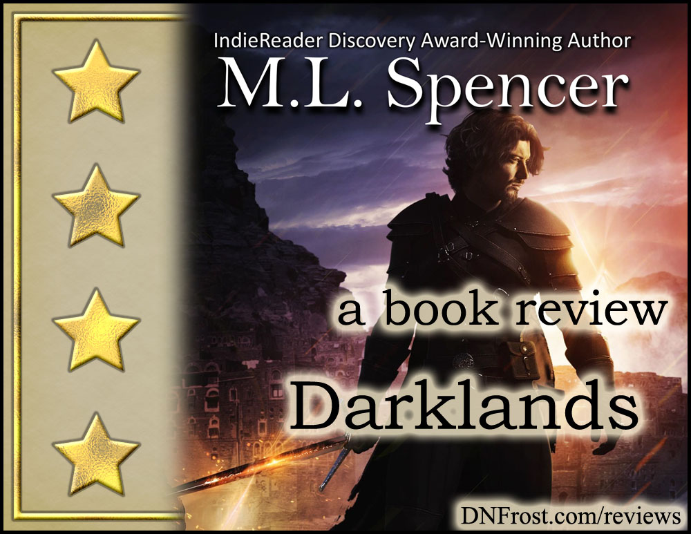 Darklands by M.L. Spencer: turning evil inside-out http://www.dnfrost.com/2017/06/darklands-by-ml-spencer-book-review.html A book review by D.N.Frost @DNFrost13 Part 7 of a series.