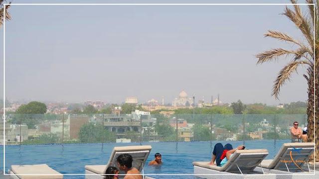onde se hospedar em Agra