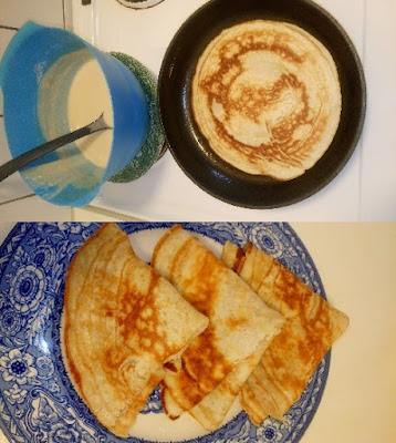 Simple, quick and delicious pancakes