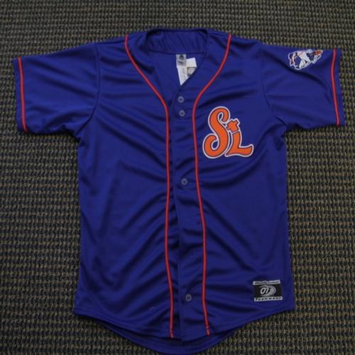 low priced 74b36 d85fc TheMediagoon.com: ST. LUCIE METS ALTERNATE JERSEY