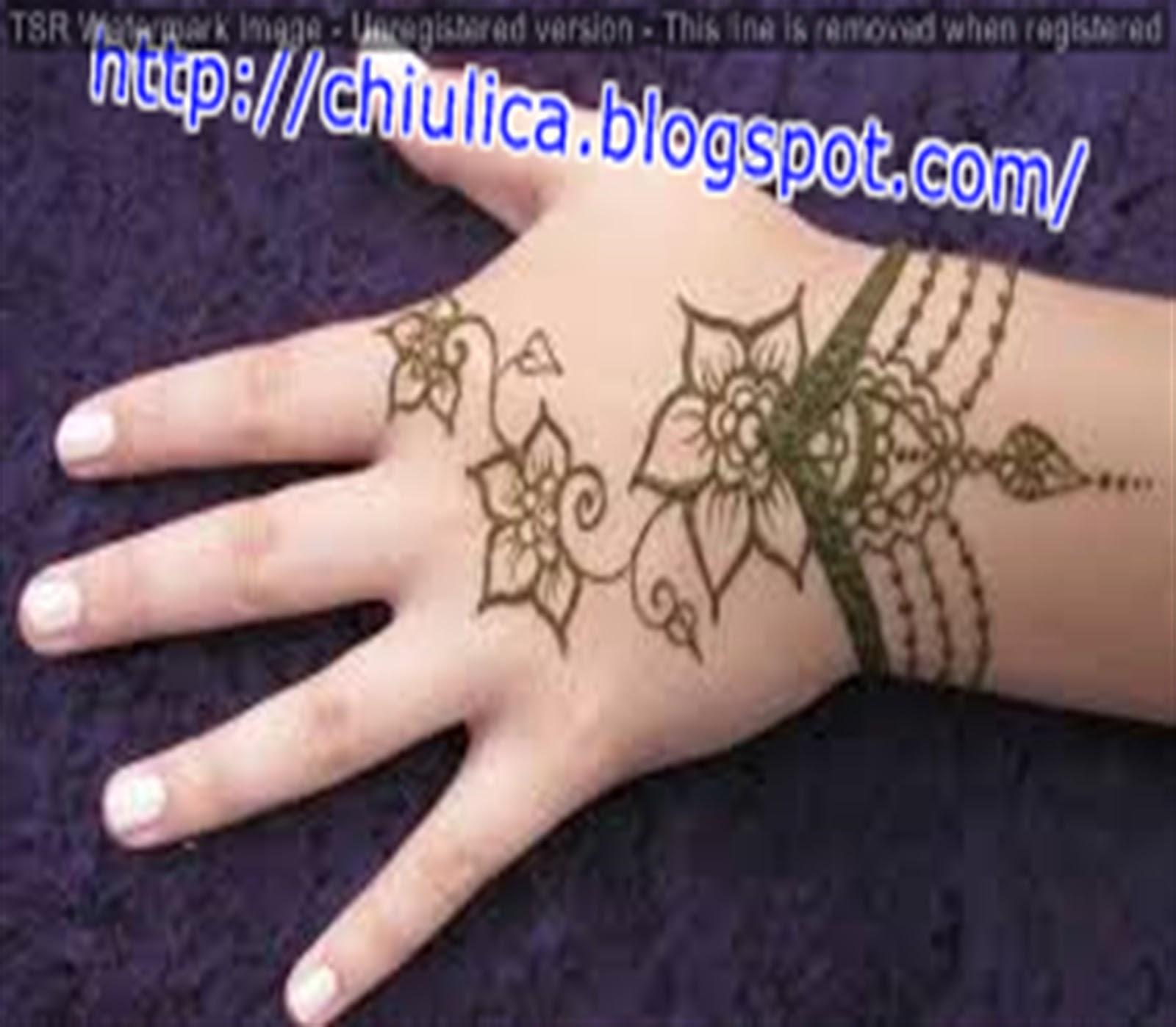 Henna Wedding Kaki Simple Dan Mudah Terbaru 2017 Contoh Henna