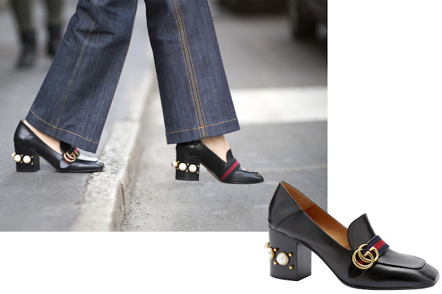heeled loafers street style how to wear heeled loafers heeled loafers winter 2017 shoes fashion moda tendenze inverno 2017 fashion blog italiani fashion bloggers italy