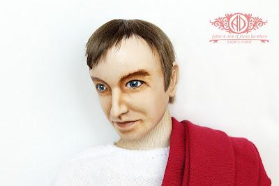ADdoll_Filosof_4 Античный философ авторская текстильная кукла Алёны Дороховой