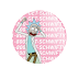 1-800-Get-Schwifty (Rick & Morty) - Botton (#RM001) - 3,8 cm