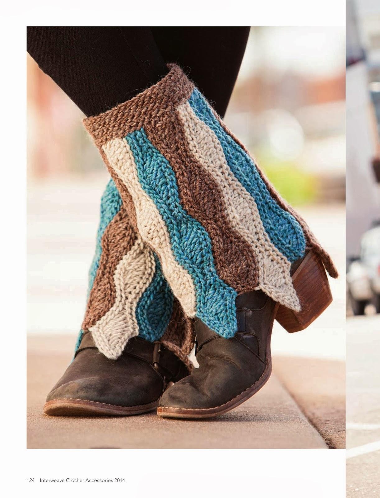 Cubre Botas de Crochet Instrucciones