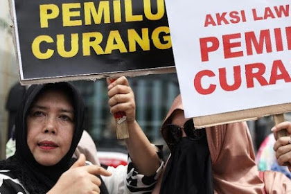 Massa Pendukung Prabowo Minta Bawaslu Diskualifikasi Jokowi