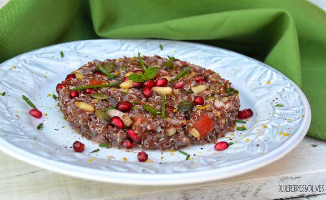 Tabulé de quinoa y granada 4