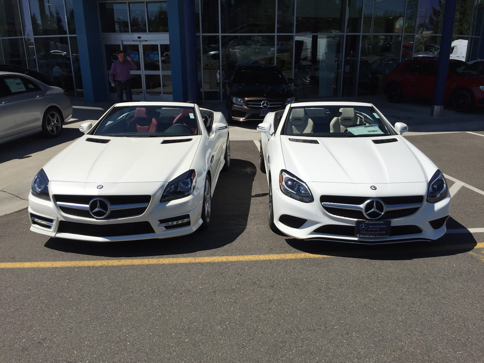 2016 Slk Vs 2017 Slc Mercedes Benz Of Lynnwood