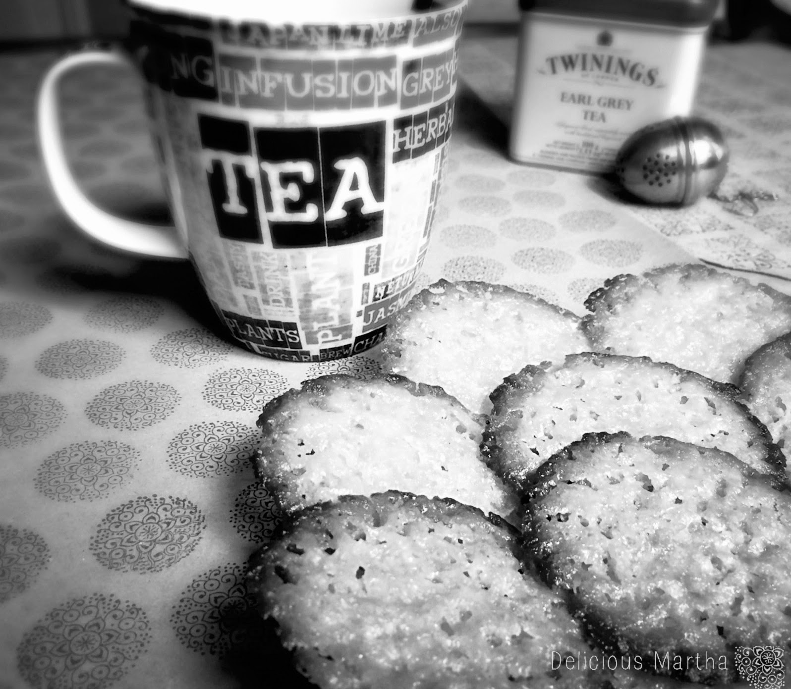Honey Lace Cookies [Galletas de encaje]