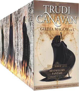 "Nowa kolekcja ""Bestsellery Fantasy Trudi Canavan"" już niebawem w kioskach!"