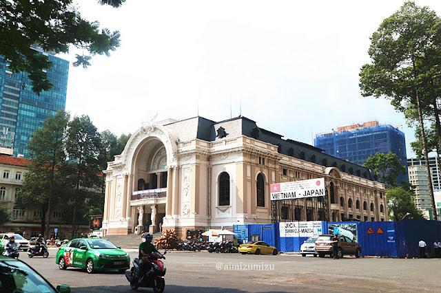 Muncipal Theater Ho Chi Minh Vietnam