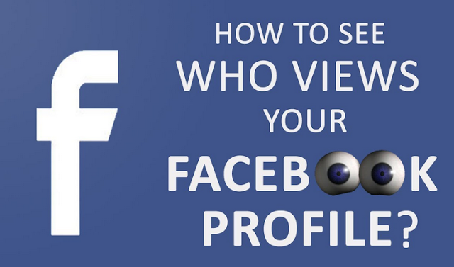 How to see who views your Facebook profile 1
