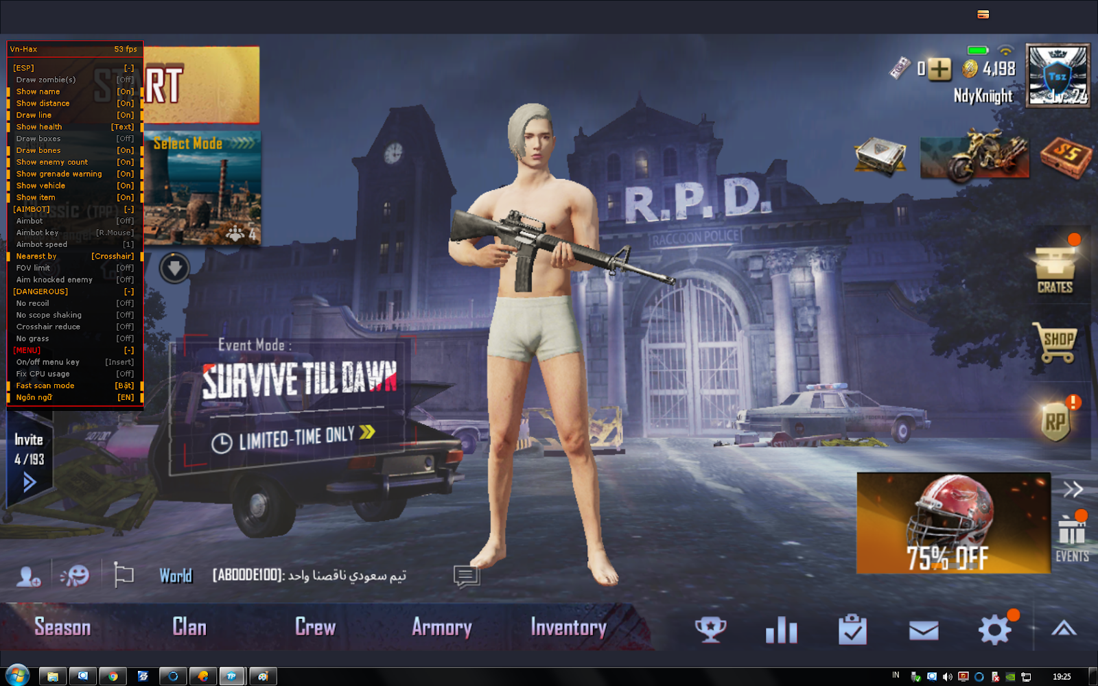 Release Cheat Pubgm Pc Emulator 9 Maret 2019 Vip Hack 2143 For Free