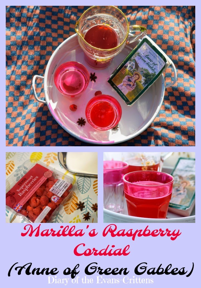 , Making Marilla's Raspberry Cordial from Anne of Green Gables- a Seasonal Recipe  #cbias #shop