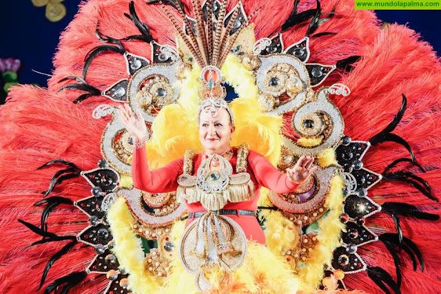 Amor a Mí, fantasía ganadora de la Gala Gran Dama del Carnaval de Los Llanos de Aridane