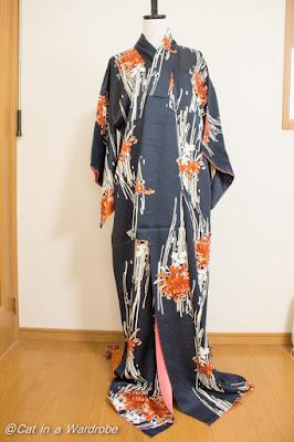 Vogue1544 - Upcycling Kimono Dress