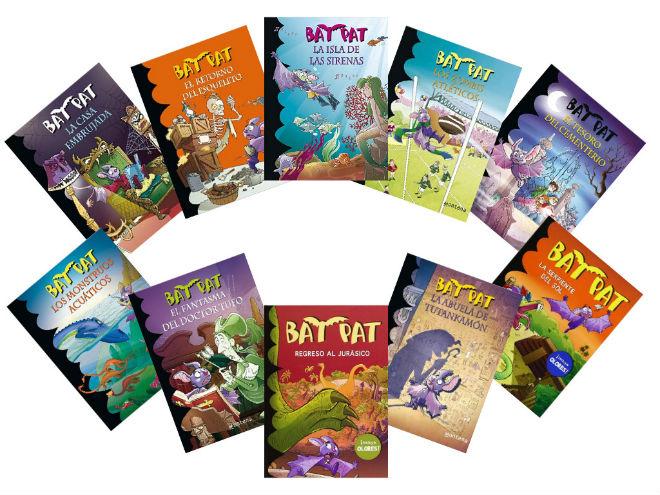 colección Bat Pat, portada cuentos, libros infantiles